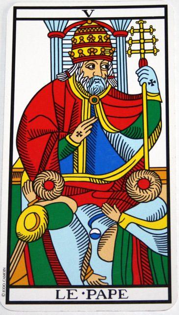 significato papa tarocchi