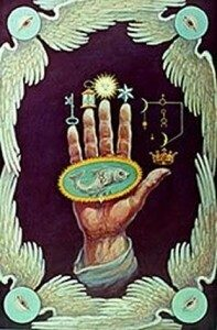 simbolo mano del filosofo