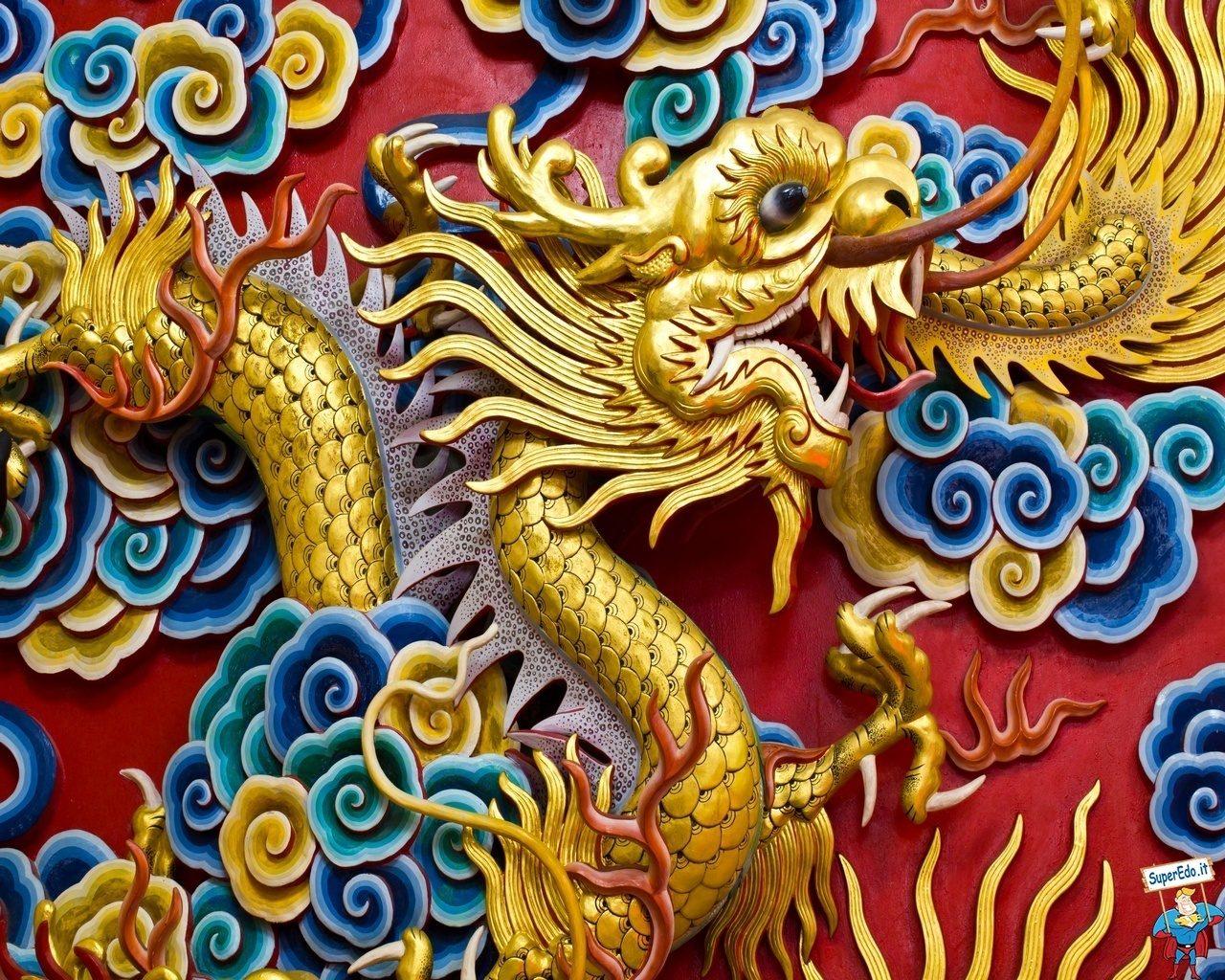 immagini di draghi cinesi