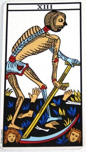 significato morte tarocchi