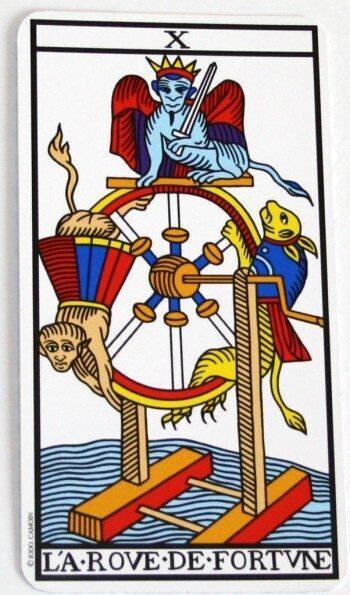 significato ruota di fortuna tarocchi