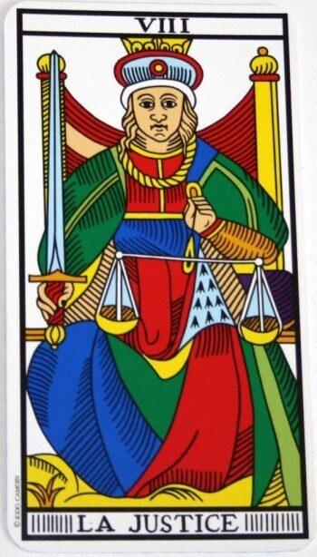 significato giustizia tarocchi