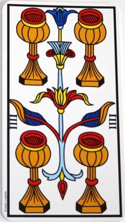 Significato dei Quattro nei Tarocchi