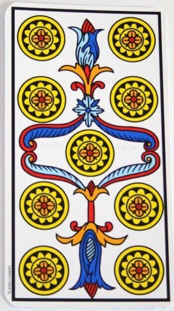 Significato dei Nove nei Tarocchi