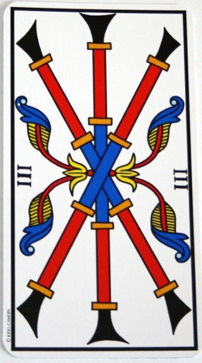 Significato dei Tre nei Tarocchi