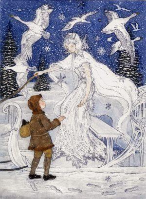 SnowQueen - Arthur Rackham