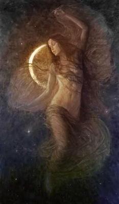 luna calante significato