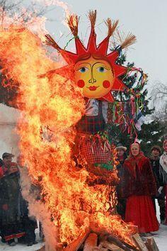 Maslenitsa: festa di primavera