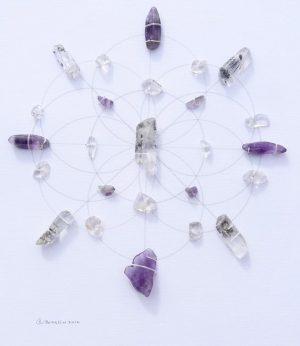 griglia di cristalli