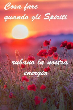 spiriti rubano energia