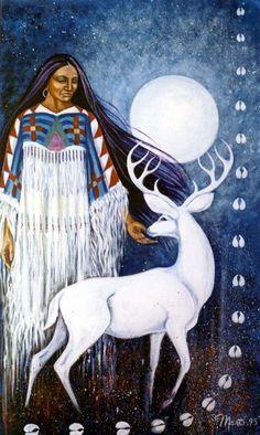 Donna Gialla nativi americani Grande Madre