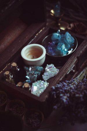 eliminare energie negative cristalli
