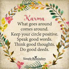 migliorare il karma