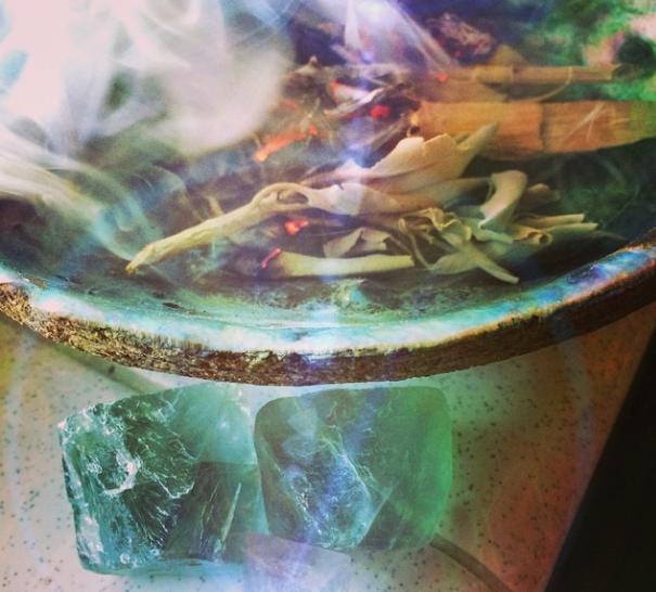 Purificare i cristalli senz' acqua