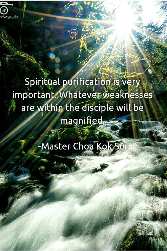 purificare spirito