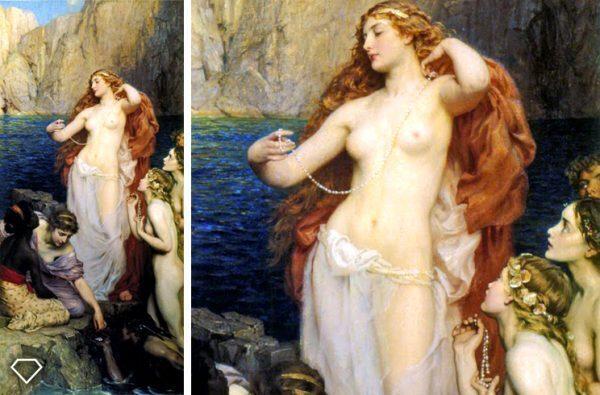 Simbolo della perla: il talismano della Grande Madre