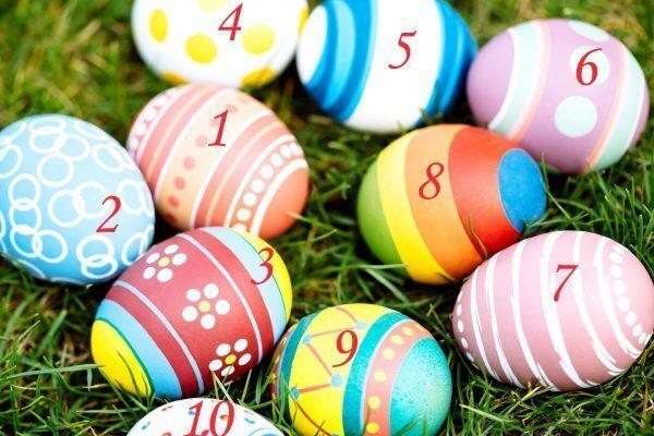 Gioco: l'uovo di Pasqua