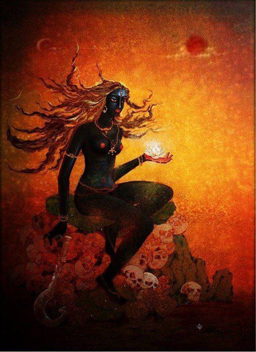 La luna piena della purificazione e dell'oscurità: Nirriti e la dissoluzione