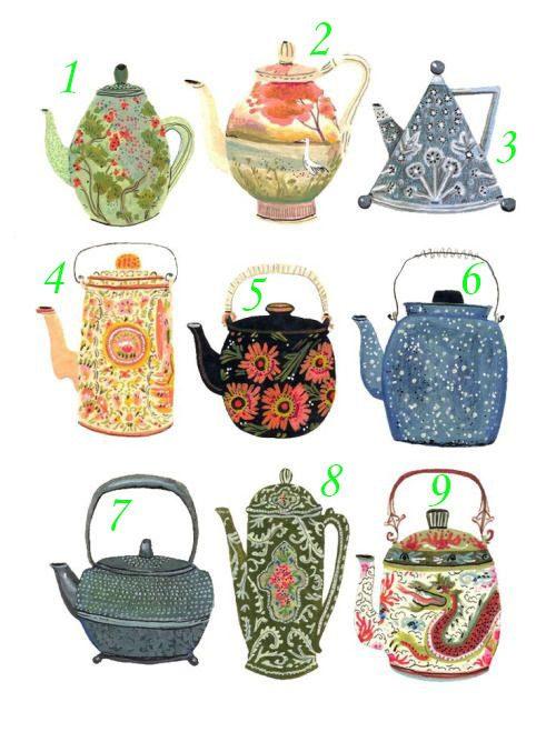 Gioco: un messaggio in una tazza di tè