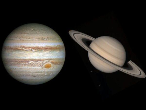 "Giove e Saturno in ""guerra"": graha yuddha fra titani!"